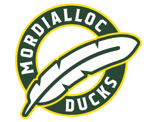 Mordialloc Ducks Baseball Club Logo